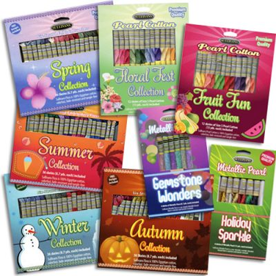 Embroidery Floss Packs