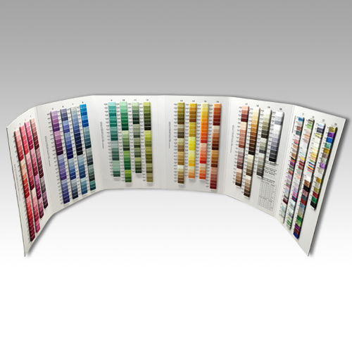 Embroidery Floss Color Card